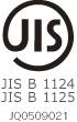 JIS B 1124 JIS B 1125