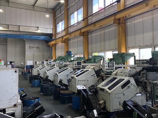 主力機械設備 検査設備